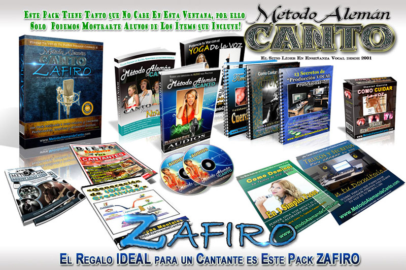 Metodo Aleman de Canto ZAFIRO FULL