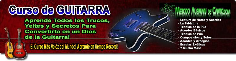 Lecciones de Guitarra online