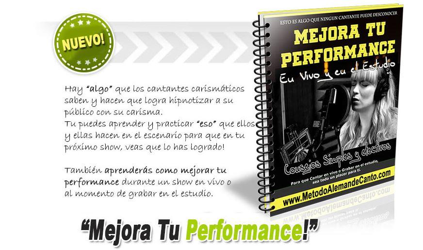 mejorar tu performance en canto