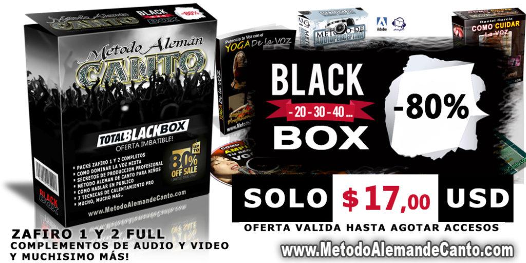 Black Box - Metodo Aleman de Canto Zafiro 1 y 2